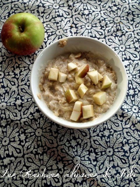 Les Aventures culinaires de Kiki: Gruau aux pommes, à la cannelle et aux pacanes vite prêt