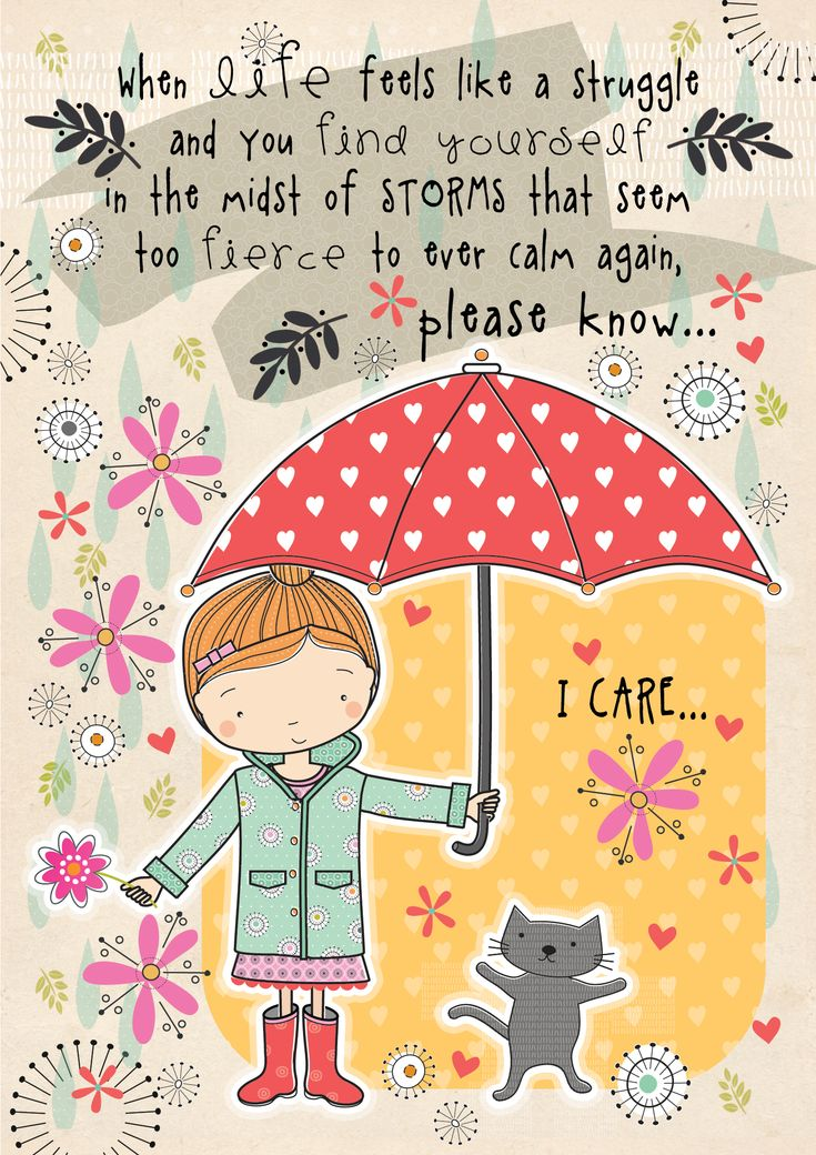 Kindness and caring . . . pass it on! #kindness #illustrations #lorinawyn