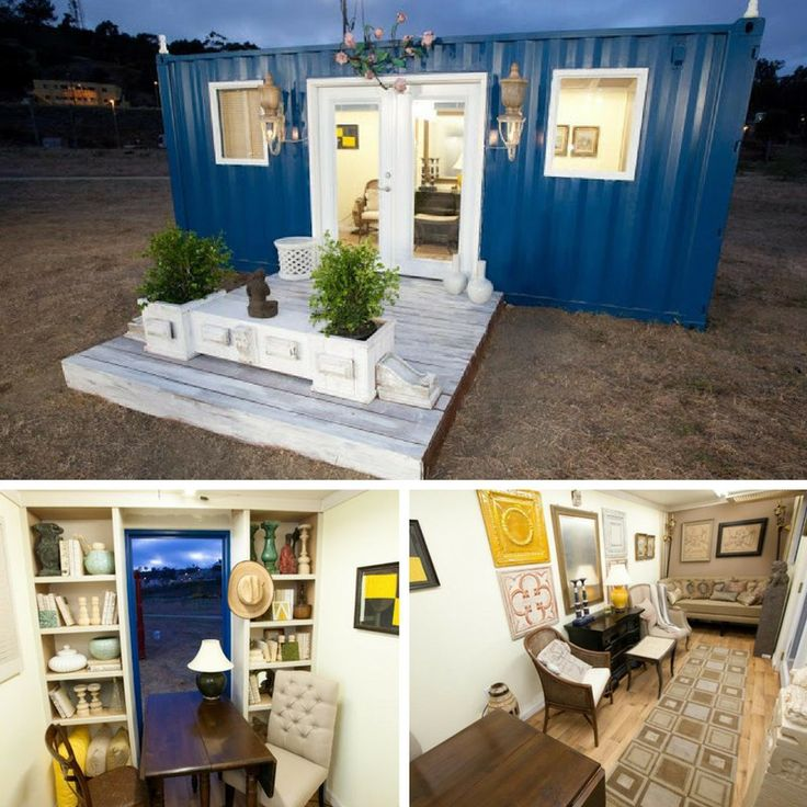 Probably one of the most innovative challenges on Design Star All Stars involves a shipping container! The challenge to make a shipping container home...
