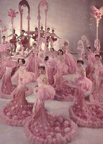Ice Follies 1963-Ice Folliettes-Pink  ---pink---pink---pink---