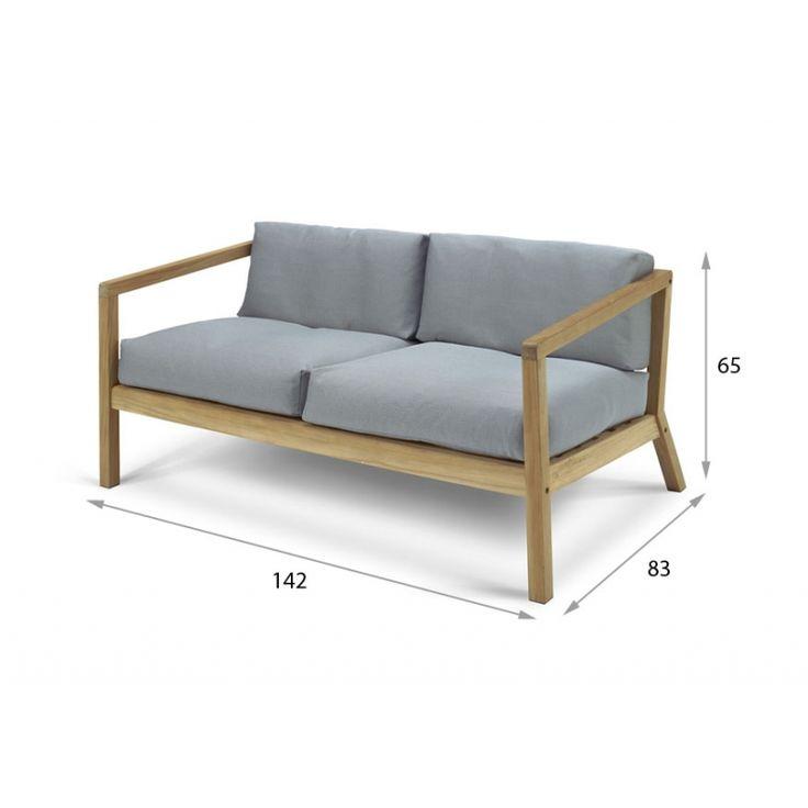 Lounge sofa 2 sitzer outdoor  270 best Skagerak images on Pinterest | Schmidt, Villa and Sands