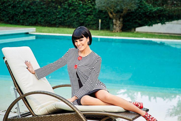 Bianca Guaccero for Cannella | bijoux @canWink | styling @emiliano_conte