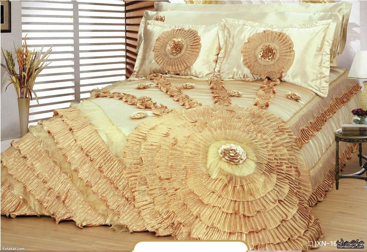 196 best images about colchas de lujo on pinterest ruffle bedding bed linens and cotton bedding - Colchas de lujo ...