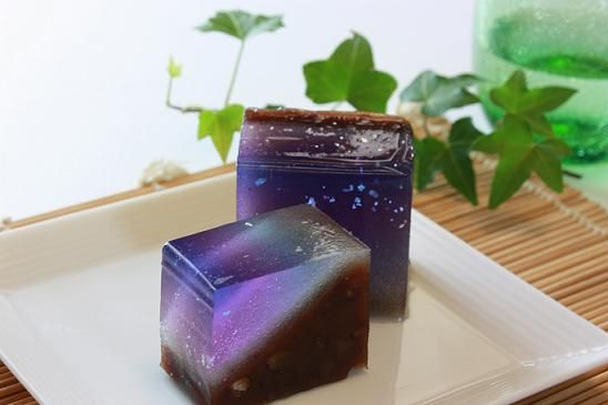 "Japanese Sweets, wagashi, 七條甘春堂 天の川 ""Milky Way"""