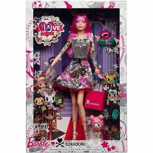 Barbie Collector 10 Aniv Tokidoki Black Label - $ 2.999,99