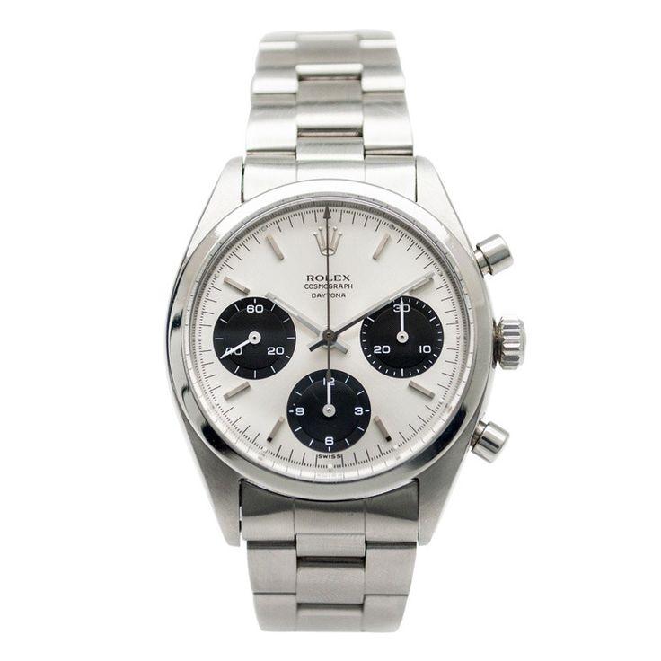 Rolex Stainless Steel Pre-Daytona Chronograph Wristwatch Ref 6234