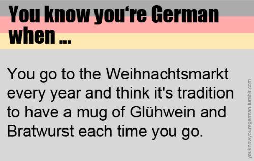 Sie wissen, dass Sie Deutsch sind, wenn … – You know you're German when …