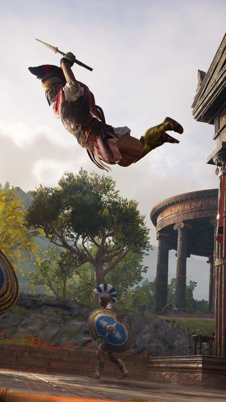 Warrior Fight Arena Assassin S Creed Odyssey 2018 720x1280