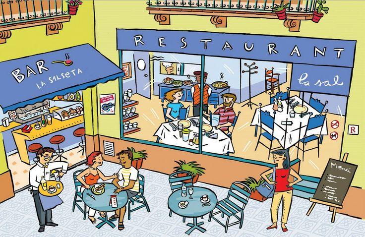 Praatplaat restaurant