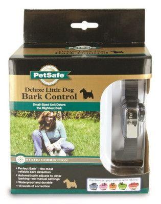 DOG TRAINING EQUIPMENT - ELITE LITTLE DOG BARK CONTROL COLLAR