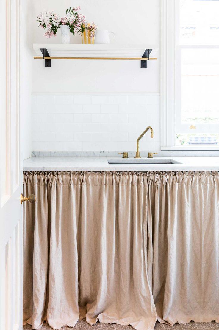 M s de 25 ideas fant sticas sobre bajo almacenaje del - Ver cortinas para cocina ...