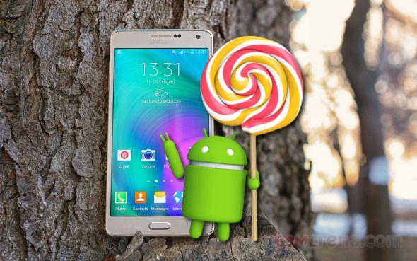 Tin mới di động: Android 5 Lollipop hiện đang geo mầm trên Samsung ...
