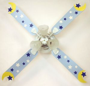Nursery ceiling fan,Blue Moon Stars Kids Ceiling Fans | Shop | Kaboodle