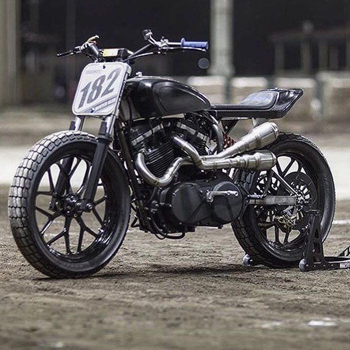 """""""Katy"""" a flat track weapon by @medium_made based on a Buell XB12. : @thegonz…"""