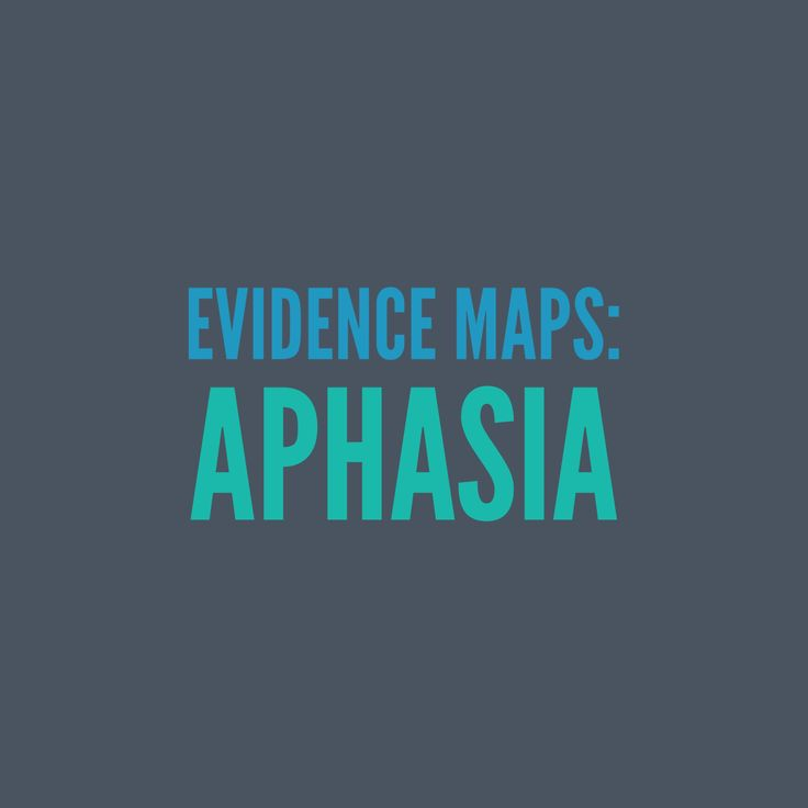 Aphasia: A comprehensive collection of evidence-based research, articles, clinical expertise and client perspectives.