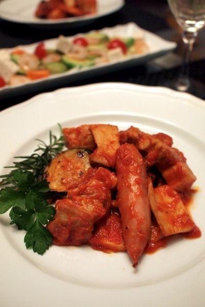豚バラ肉のカチャトーラ&アボカドのサラダ by shoko♪さん | レシピ ...