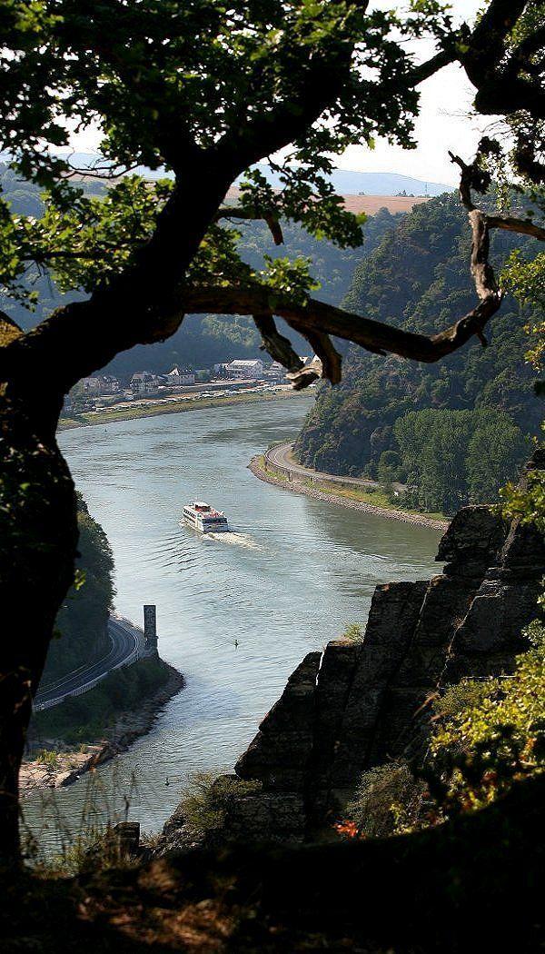 Loreley Rock, Middle Rhine Valley, Germany