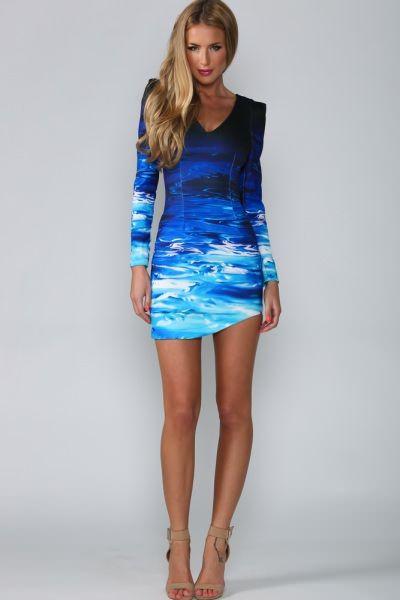 Blue Ocean Dress