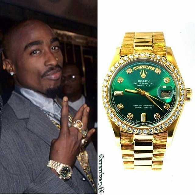 Pin By World Of Old School On 2pac World In 2019 Rolex