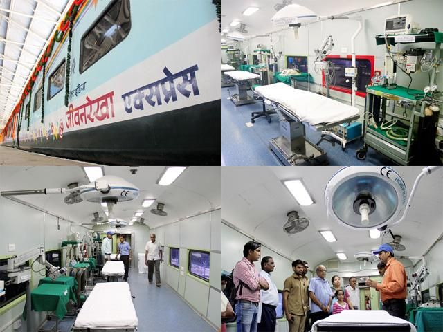Slideshow : World's first hospital-train - India's Lifeline Express: World's first hospital-train | The Economic Times