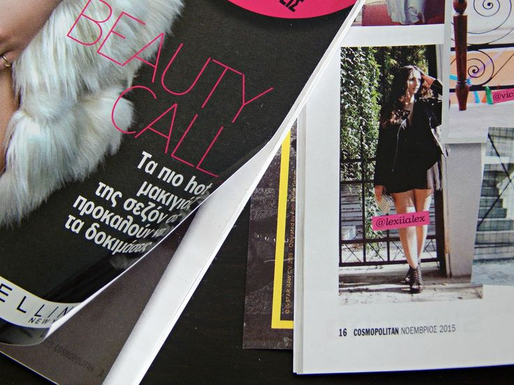 Study About Fashion look in Cosmopolitan Magazine - Study About Fashion