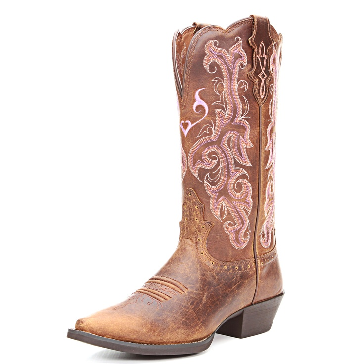 Justin Tan Buffalo Cowgirl Boots  .. getting these for summer !!!!!