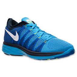 Men's Nike Flyknit Lunar2 Running Shoes | FinishLine.com | Vivid  Blue/White/ · Zapatos Para Correr De HombresZapatillas Deportivas