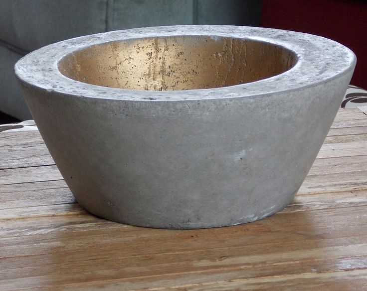 Concrete pots for any use