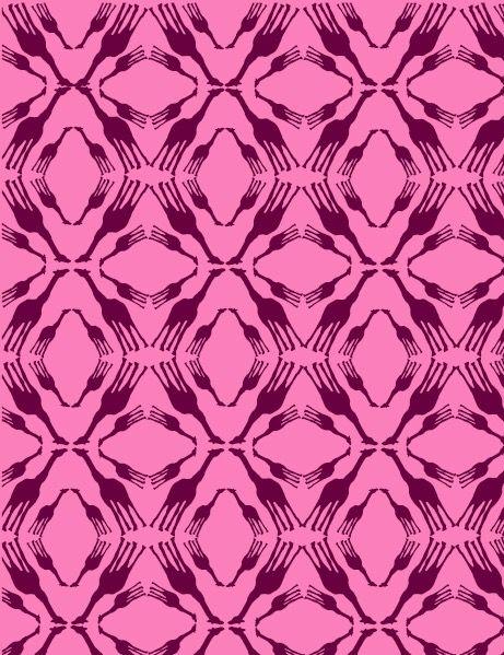 Sistemas  Lenguaje básico Modulo: Jirafa Sistema Reticular rombo junto con reflexión. Armonía: Bicromia magenta y violeta incluyendo sus matices intermedios.