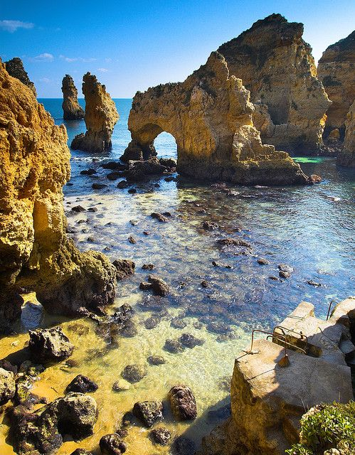 Alvor, Praia Da Rocha and Lagos beaches- Portugal
