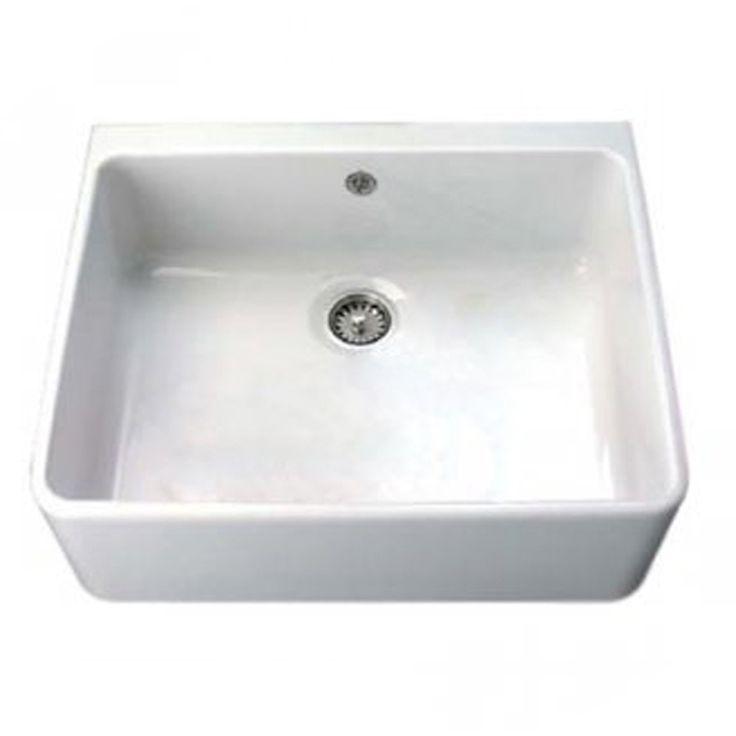 Villeroy U0026 Boch Farmhouse 60 1.0 Bowl White Ceramic Kitchen Sink ...