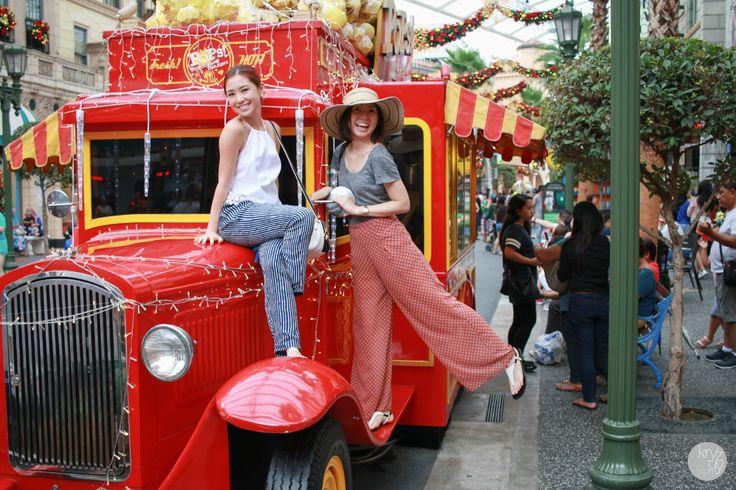 Photogenic Spots at Universal Studios Singapore