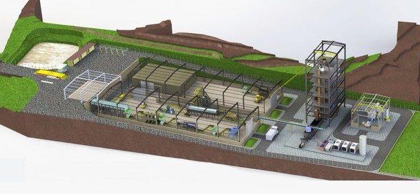 Usina de lixo sem incineração pioneira no Brasil ficará em MG