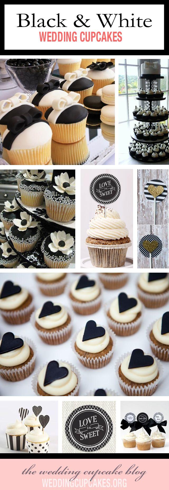cupcake recipes for bridal shower%0A favoriteblackwhiteweddingcupcakes