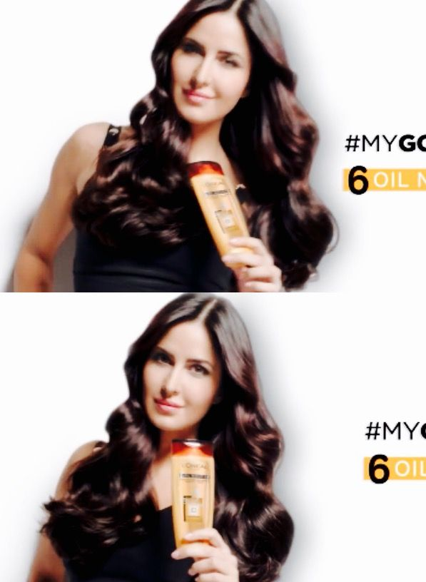 Katrina Kaif for  L'Oreal Paris Advanced Hair Care ad 2016