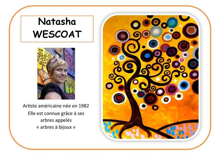 Natasha Wescoat - Portrait d'artiste