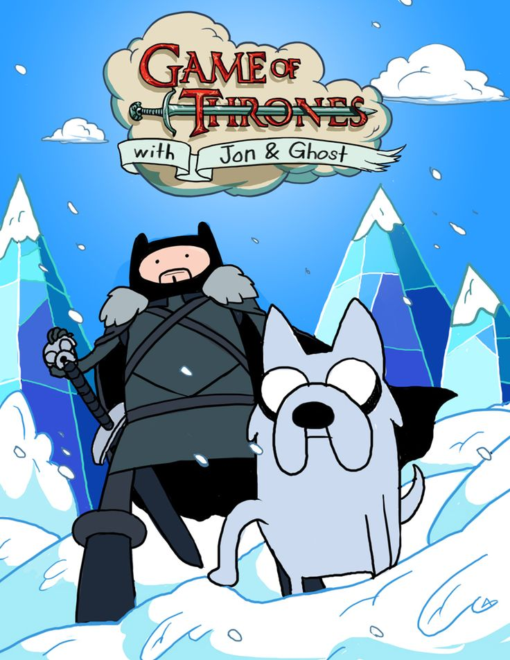 Game of Thrones / Adventure Time    winter is coming... by ~godfreyescota on deviantART