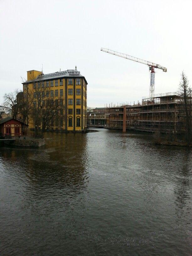Industrilandskapet i Norrköping