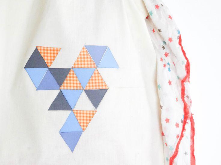 Les DIY Frou-Frou x Atelier Svila : #9 le totebag customisé avec des thermocollants de Mélanie