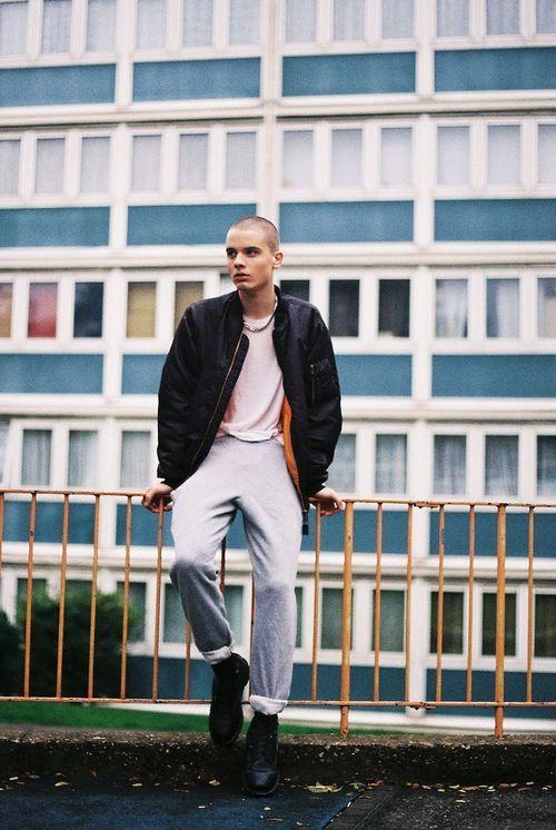 Image result for skinhead girl fashion inspired