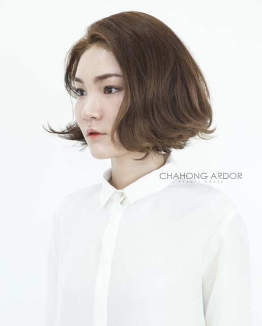 #Cushion #bob #perm #short #hair #beauty #cut #chahongardor