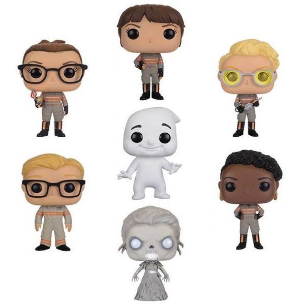 Ghostbusters 2016 Pop Vinyl Figures - $9 - Gifts for Ghostbusters Fans! - http://amzn.to/2atCsgF