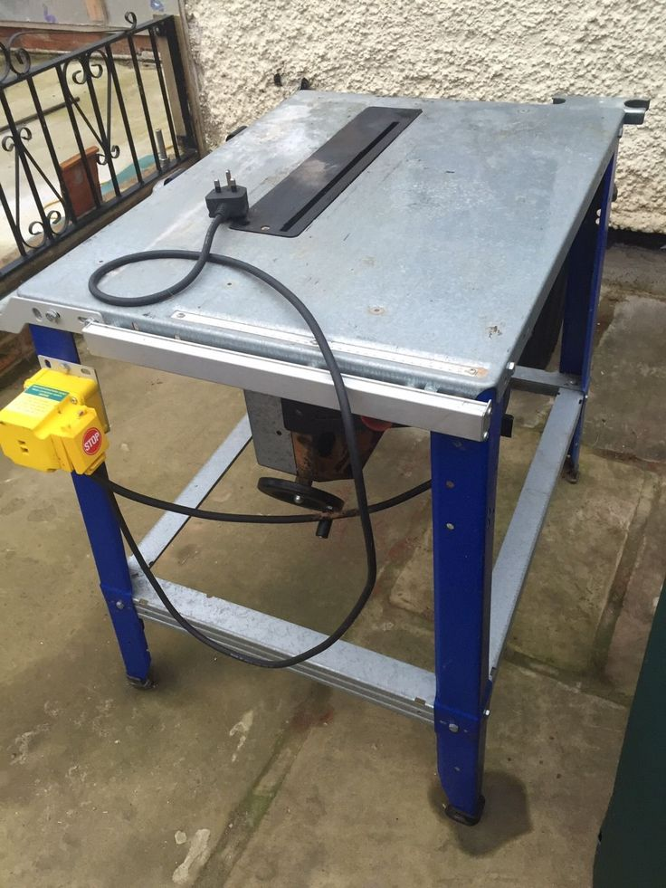 Saw Bench in Business, Office & Industrial, Power Tools, Saws | eBay