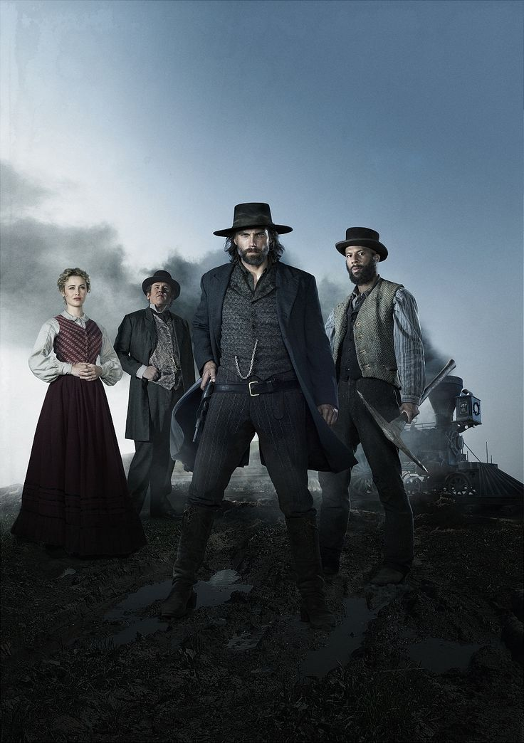 Hell on Wheels - just finished watching the first season and I love it! Gritty, dark, and dirty, like the West really was - they let it speak for itself.
