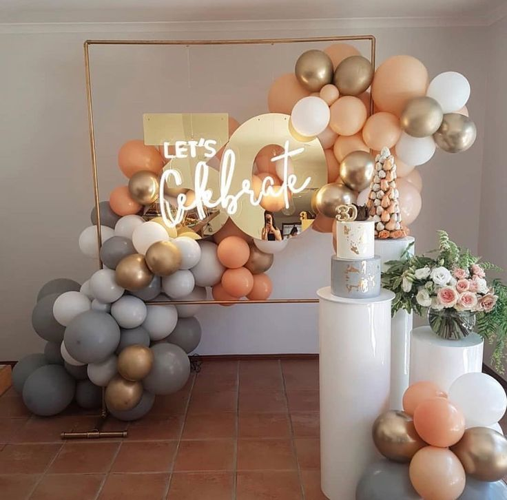 """Sweet Heavenly Events Hire on Instagram: """"? L E T'S ? C E L E B R A T E ? Plinths by us! @sweetheavenlyeventshire Neon, Gold Stand"""