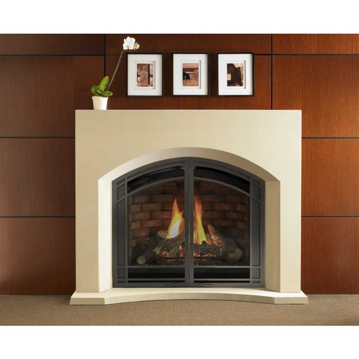 Gas Fireplace shallow gas fireplace : 29 best Foyers au gaz   Gas Fireplaces images on Pinterest
