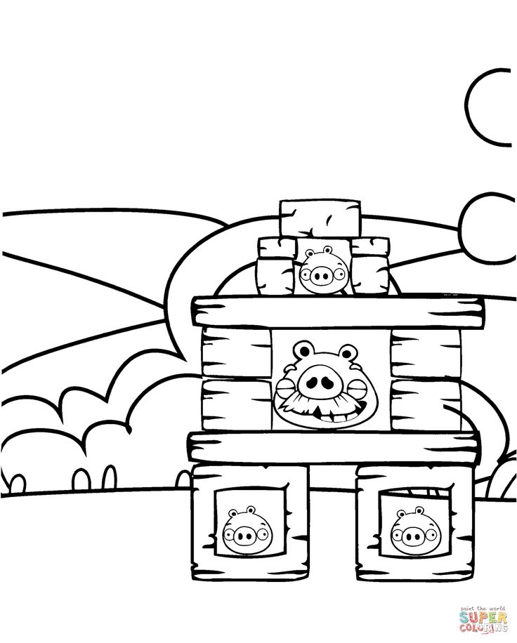 angry birds bad piggies coloring pages - 188 best images about kids 39 coloring pages on pinterest