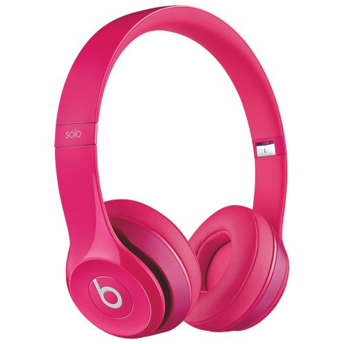 Beats by Dr. Dre - Beats Solo 2 On-Ear Headphones (900-00246-01) - Pink #SETMEUPBBY I love my music, especially in pink