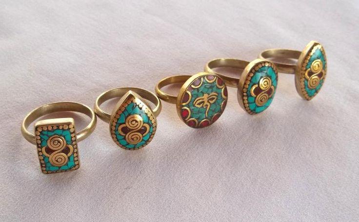 anelli turchese e corallo - Cerca con Google