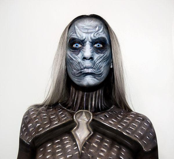 Night King, White Walker SFX  Game of Thrones makeup   jacquelombardo.com